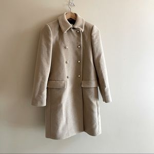 MNG camel wool trench SIZE S